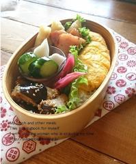 6.8 オムレツ弁当&今日のすき間埋めおかず」Vol.4 - YUKA'sレシピ♪