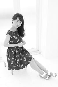 奥寺千尋ちゃん4 - モノクロポートレート写真館