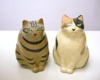 ほたる庵の陶ネコたち - 届けられたもの