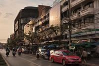 タイ「wongwian yai 市場」 - 風じゃ~
