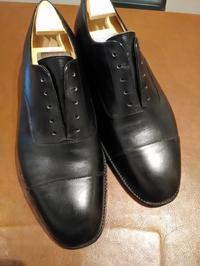 【Before/After】J.M.WESTON 300フルメンテナンス - Shoe Care & Shoe Order 「FANS.浅草本店」M.Mowbray Shop