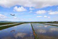 水鏡の季節も終わり・・・~旭川空港~ - 自由な空と雲と気まぐれと ~from 旭川空港~