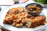 油淋鶏とコリアンダー - 登志子のキッチン