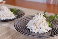 鶏と大根のサラダ - おいしい便り