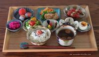 残りもの御膳(๑¯﹃¯๑)♪ - **  mana's Kitchen **