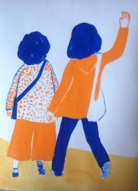 夏旅アレンジ - たなかきょおこ-旅する絵描きの絵日記/Kyoko Tanaka Illustrated Diary