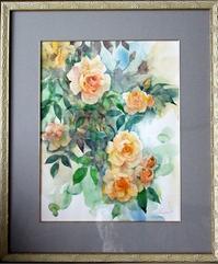 画の中で - 元木はるみのバラとハーブのある暮らし・Salon de Roses