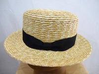 麦カンカン帽 - 倉敷美観地区の帽子店 Chapeaugraphy