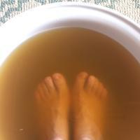 親子で足裏どろんこヘナパック - aloha healing Makanoe