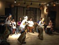 """ウガンダ支援チャリティーベント""""Sanyu"""" 出演の様子 - ジャンベ教室(ジェンベ教室)ぽんぽこブログ"""