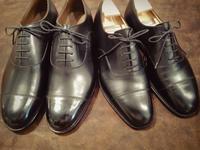 J.M.Westonと荒井弘史を比べてみる - Shoe Care & Shoe Order 「FANS.浅草本店」M.Mowbray Shop