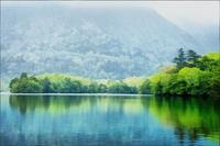 奥日光・湯の湖の新緑 2 - 光 塗人 の デジタル フォト グラフィック アート (DIGITAL PHOTOGRAPHIC ARTWORKS)