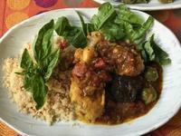 モロッコ風鶏料理 - やせっぽちソプラノのキッチン2