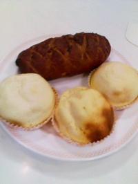 ホームメイド、ワインブレッドとチーズケーキボール - kankanの家