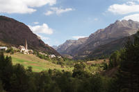 Col de Vars 2109m - Bicycle Touring Photo Gallery.