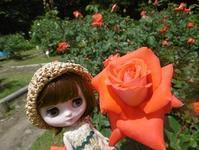 ~今日のお花 バラ~ - 雪うさぎのお裁縫箱