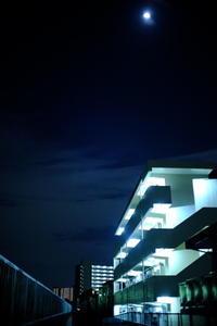 月夜 / X-E1 + 7artisans 25mm F1.8 - minamiazabu de 散歩 with FUJIFILM