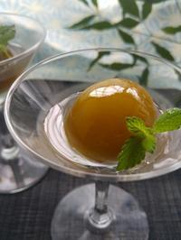 今年の梅仕事「梅のコンポート」 - 料理研究家ブログ行長万里  日本全国 美味しい話