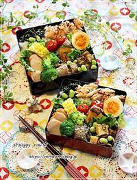 いつもの(笑)おばんざい弁当とパン焼き♪ - ☆Happy time☆