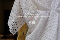 """""""2018 Summer Cotton Lace Cut & Sewn Combination~IPSE~...6/11mon"""" - SHOP ◆ The Spiralという館~カフェとインポート雑貨のある次世代型セレクトショップ~"""