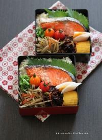 鮭のグリル焼き ✿ ぶり大根(๑¯﹃¯๑)♪ - **  mana's Kitchen **