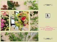 色々なハーブ🌿と薫り高いバラたちと。 - Bouquets_ryoko