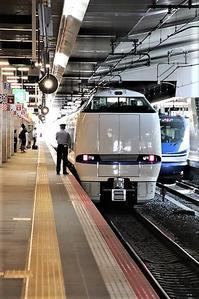 藤田八束の鉄道写真@瑞風を大阪駅からカメラに収めました、トワイライトエキスプレス瑞風の写真、大阪駅でトワイライトエキスプレス瑞風に会いました - 藤田八束の日記