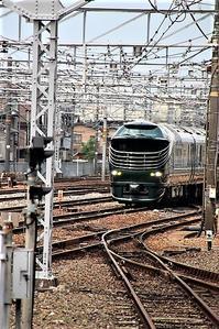 藤田八束の鉄道写真@京都見物でトワイライトエキスプレス瑞風にご対面・・・感動の日を京都でゲット - 藤田八束の日記