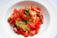 週末パスタ活動フルーツトマトの冷製カッペリーニ - Darjeeling Days