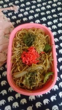 焼きそば弁当 - trintrin☆dolce☆