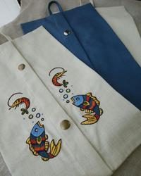 めでたそうなBOXティッシュケース♪ - 手刺繍屋 Eri-kari(エリカリ)