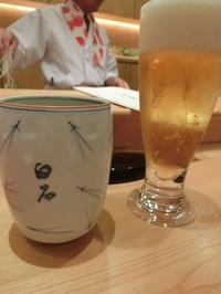 """江戸前お寿司とシャンパーニュで記念日ディナー☆白石 - Singaporeグルメ☆"""" Ⅲ"""