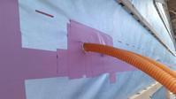 現場確認 電気配線の漏気を防ぐ - 成長する家 子育て物語