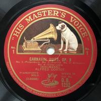 アルフレッド・コルトーによるシューマンの謝肉祭op.9 - シェルマン アートワークス 蓄音機blog