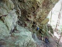 中之条町 有笠山でクライミング     Rock Climbing at Mount Arigasa in Nakanojō, Gunma - やっぱり自然が好き