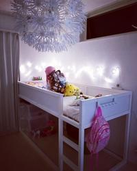 子供部屋の模様替え・LEDでキラキラ☆ - ねことおうち
