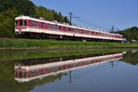 神戸電鉄 1000系+1100系 神鉄道場ストレート - レイルウェイの記憶