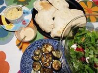 中東料理で晩ごはん - Bのページ