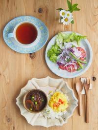 ビーフシチューの朝ごはん - 陶器通販・益子焼 雑貨手作り陶器のサイトショップ 木のねのブログ