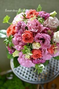 お誕生日のお祝いに贈る花束♪ - 花色~あなたの好きなお花屋さんになりたい~