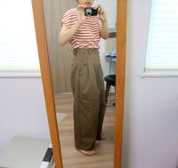 大きな服を着る、小さな服を着る。のワイドパンツ - umlaut