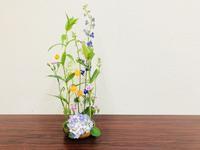 紫陽花のアレンジ☆ - Flower Days ~yucco*のフラワーレッスン&プリザーブドフラワー~
