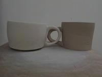 白いコーヒーカップ - 冬青窯八ヶ岳便り