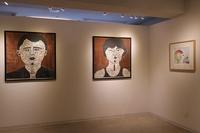 6月13日 木版画展示風景 - 川越画廊 ブログ