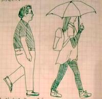 万引き家族 - たなかきょおこ-旅する絵描きの絵日記/Kyoko Tanaka Illustrated Diary