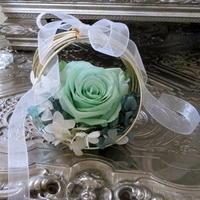 アンティークシルバーの銀器とお花㉝~プリザーブドフラワー♪ - アンティークな小物たち ~My Precious Antiques~