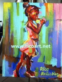 最近描いた絵 - ジャマイカブログ Ricoのスケッチ・ダイアリ