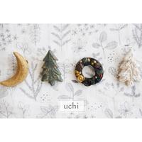 uchiさんの陶土ブローチ届きました♪ - Ange(アンジュ) - 小林市の雑貨屋 -