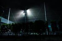 夜のグラウンド / X70 - minamiazabu de 散歩 with FUJIFILM