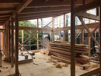 「深沢の家」上棟 - HAN環境・建築設計事務所